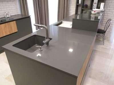 Blat quartz Goby Grey