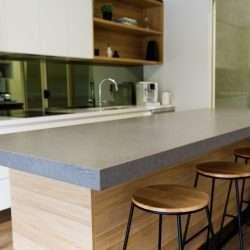 Blat quartz Noble Concrete Grey