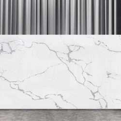 Blat quartz Bianco Statuario